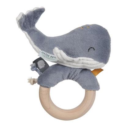 Ringrassel Wal - Ocean blue