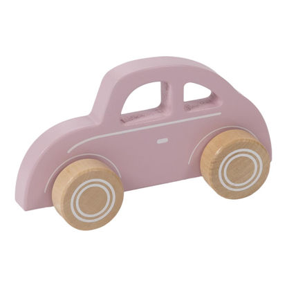 Holz Auto - pink