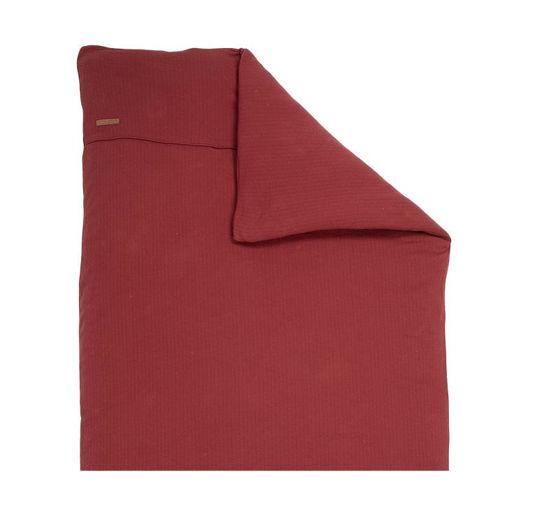 Kissenbezug 80x80 - Pure Indian Red