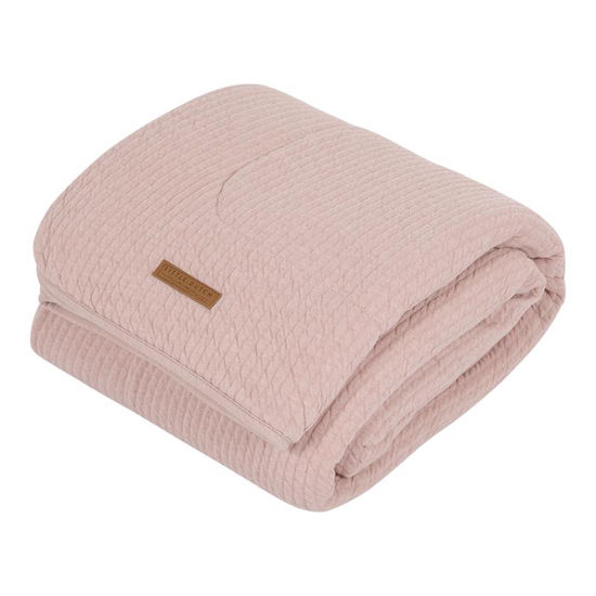 Softe Baby & Kinderdecke - Pure Pink