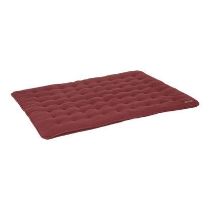Laufgittereinlage & Krabbeldecke 80 x 100 - Pure Indian Red