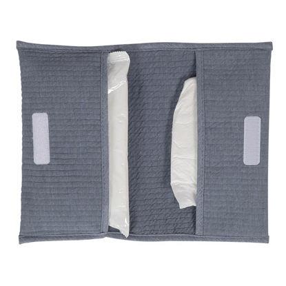 Reisetasche für Windeln & Feuchttücher  - Pure Blue