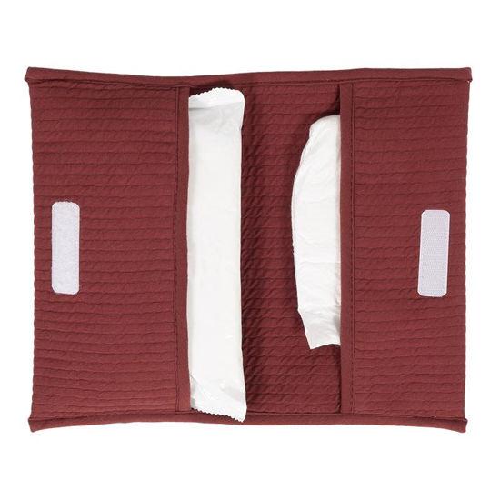 Reisetasche für Windeln & Feuchttücher  - Pure Indian Red