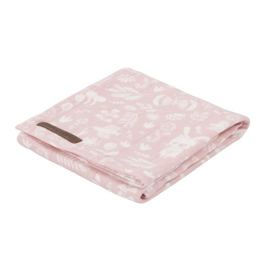 Swaddle Tuch 120 x 120 - Adventure Pink