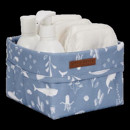 Baby Aufbewahrungsbox, klein - Ocean Blue