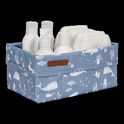 Baby Aufbewahrungsbox, gross - Ocean Blue