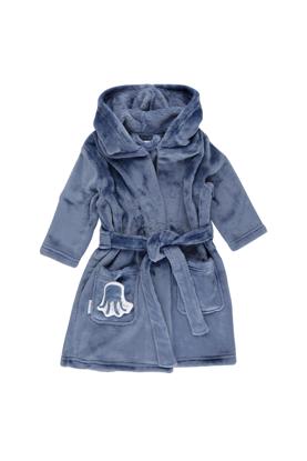 Bild von Baby-Bademantel blau - ocean - 98/104