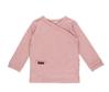 Bild von Baby-Wickelshirt melange rosa - 56