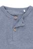 Bild von Tshirt langen Ärmeln melange blau - 68