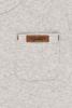 Bild von Tshirt langen Ärmeln melange grau - 68