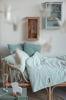 Bild von Bettlaken - Lily Leaves Mint