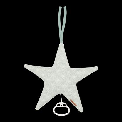 Bild von Spieluhr Stern - Lily Leaves Mint