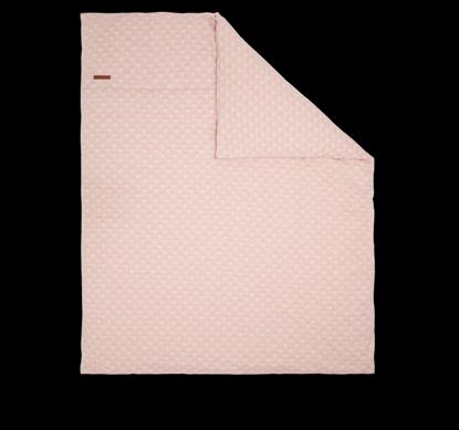 Bild von Kissenbezug 80x80 - Lily Leaves Pink
