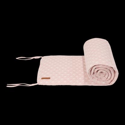 Bild von Babybett Nestchen - Lily Leaves Pink