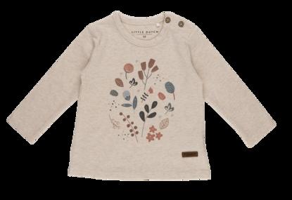 Bild von Tshirt langen Ärmeln mit Aufrduck - spring flowers - 56
