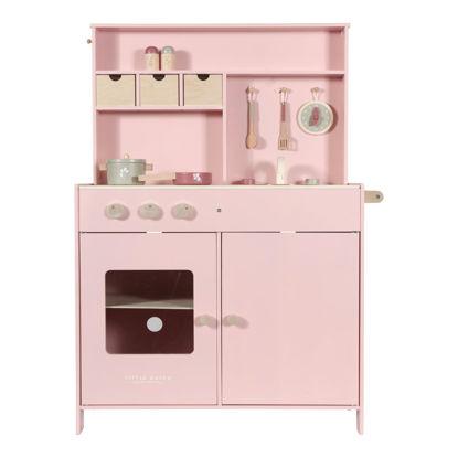 Bild von Holz Küche Pink