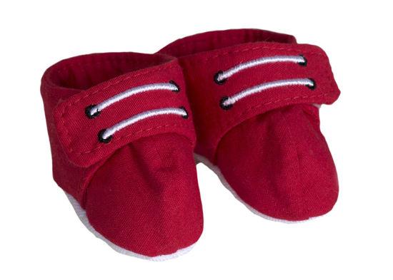 Bild von Red Sneakers in Drawstring Bag