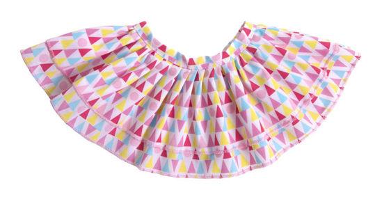 Bild von Geometric Skirt in Drawstring Bag