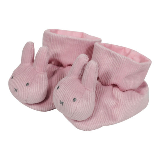 Bild von Miffy Stoffschuhe  Pink baby rib