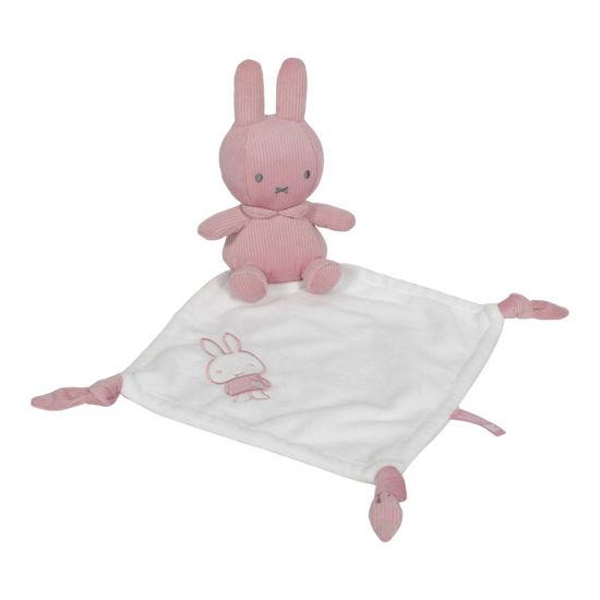 Bild von Miffy Kuscheltuch  Pink baby rib