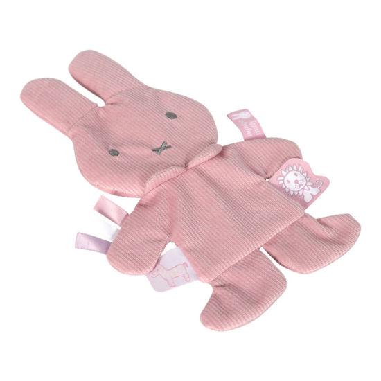 Bild von Miffy Knistertuch  Pink baby rib