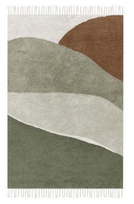 Bild von Teppich Horizon Olive 130x90cm
