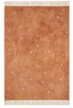 Bild von Teppich Pure rust dot 170x120cm