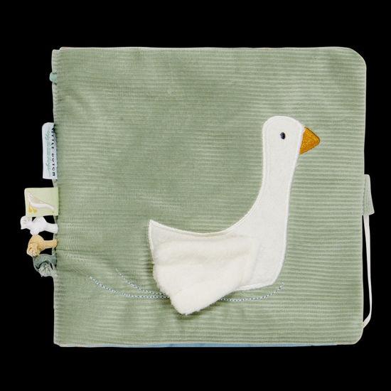 Bild von Stoffbuch mit Aktivitäten Little Goose