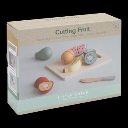 Bild von Holz Obst zum schneiden
