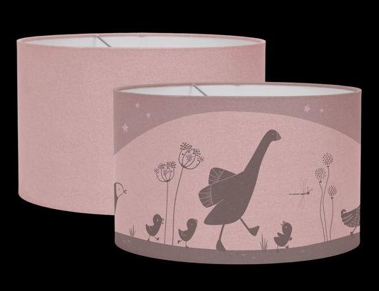 Bild von Lampe Silhouette Little Goose Pink