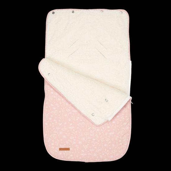 Bild von Babyschalen-Fußsack 0+ Wild Flowers Pink