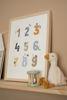 Bild von Poster Little Goose ABC - Blue