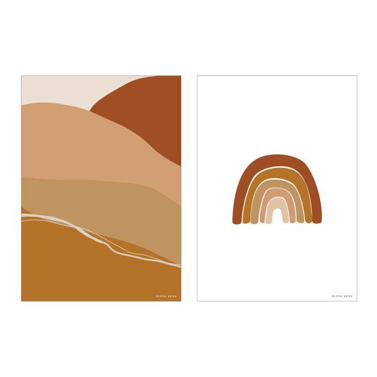 Bild von Poster Horizon Rust