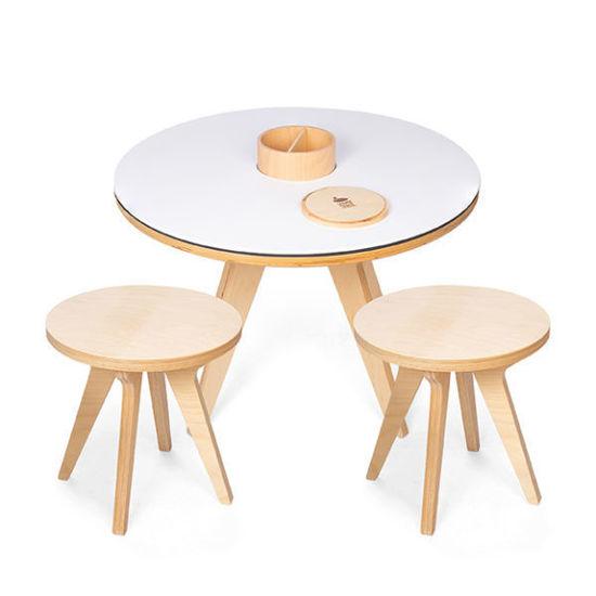 Bild von Drawin' Table Tisch mit 2 Stühlen