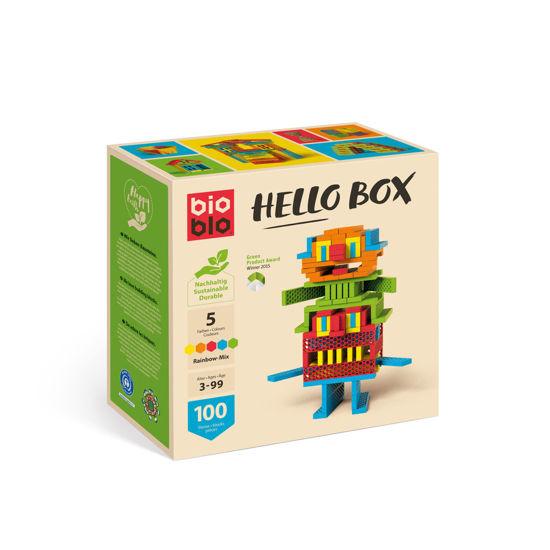 Bild von Hello Box Rainbox Mix - 100 Steine